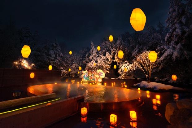 三沢市の「星野リゾート  青森屋」 ねぶり流し灯篭にりんご鍋、青森文化を満喫できる温泉宿!